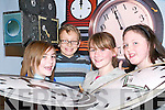 Countdown: Staring in the Asdee Community Centre's performance The Countdown to Christmas which will stage this Sunday are Marie Hannon (Tick), Hayley Doyle, (the fairy clock mother), Donacha Griffin (cameraman) and Megan Mulvihill, (Tock).   Copyright Kerry's Eye 2008