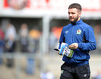 Blackburn Rovers' Adam Armstrong<br /> <br /> Photographer Ashley Crowden/CameraSport<br /> <br /> The EFL Sky Bet League One - Bristol Rovers v Blackburn Rovers - Saturday 14th April 2018 - Memorial Stadium - Bristol<br /> <br /> World Copyright &copy; 2018 CameraSport. All rights reserved. 43 Linden Ave. Countesthorpe. Leicester. England. LE8 5PG - Tel: +44 (0) 116 277 4147 - admin@camerasport.com - www.camerasport.com