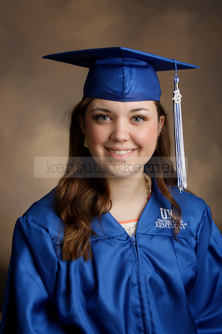 Panter, Caitlin photographed during the Feb/Mar, 2013, Grad Salute in Lexington, Ky.