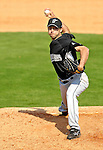 28 February 2007: Florida Marlins' pitcher Mike Koplove on the mound during a pre-season Grapefruit League game against the St. Louis Cardinals on Opening Day for Spring Training at Roger Dean Stadium in Jupiter, Florida. The Cardinals and Marlins share Roger Dean Stadium and the training facilities which opened in 1998 as a co-development between the Cardinals and the Montreal Expos.<br /> <br /> Mandatory Photo Credit: Ed Wolfstein Photo