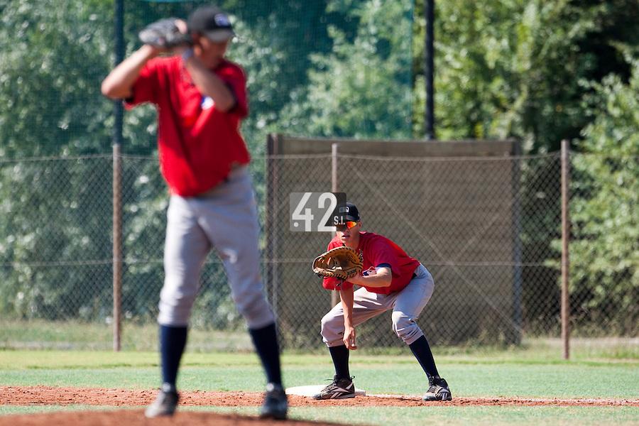 Baseball - MLB European Academy - Tirrenia (Italy) - 21/08/2009 - Kevin Weijgertse (Netherlands)