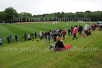 The crowd watch the Welsh squad train during the Wales Open Training Session on Wednesday 1st June 2016 at the Vale Resort, in the Vale of Glamorgan. <br /> <br /> <br /> Jeff Thomas Photography -  www.jaypics.photoshelter.com - <br /> e-mail swansea1001@hotmail.co.uk -<br /> Mob: 07837 386244 -