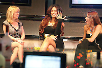 Reality TV Divas Live, Ramona from Real Housewives Of NYC, Tracy from Jerseylicious and Drita from Mob Wives pictured as Tracy announces she is engaged and shows her ring at Parx Casino in Bensalem, Pa on May 25, 2012  © Star Shooter / MediaPunchInc