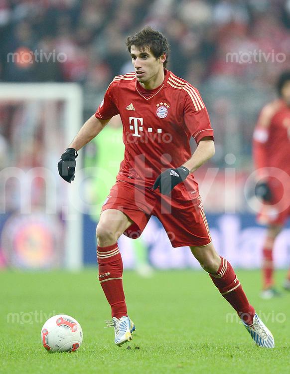 FUSSBALL   1. BUNDESLIGA  SAISON 2012/2013   15. Spieltag FC Bayern Muenchen - Borussia Dortmund     01.12.2012 Javi , Javier Martinez (FC Bayern Muenchen)