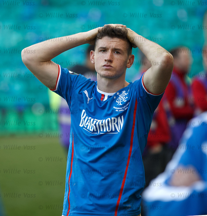 Fraser Aird dejection