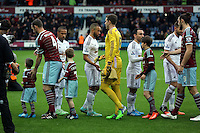 Sunday 07 December 2014<br /> Pictured: <br /> Re: Premier League West Ham United v Swansea City FC at Boleyn Ground, London, UK.