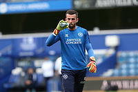 Liam Kelly of Queens Park Rangers warming up during Queens Park Rangers vs Fulham, Sky Bet EFL Championship Football at the Kiyan Prince Foundation Stadium on 30th June 2020