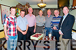 Captains Prize : Pictured at the presentation of the Listowel Golf Club  Captains prizes on Saturday night last at The Saddle Bar, Listowe were Jimmy Barrett, 2nd, David Toomey, guest, Michael F. Barrett, Predident, Listowel GC, Willie Wixted, 1st, Patrick Doody, Captain Listowel GC, Patsy O'Sullivan, nearest pin & Ian Fogarty, longest drive.