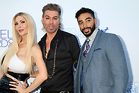 LOS ANGELES - SEP 13:  Cassandra Cass, Chaz Dean, Laith Ashley at the Project Angel Food Awards Gala at the Garland Hotel on September 13, 2019 in Los Angeles, CA