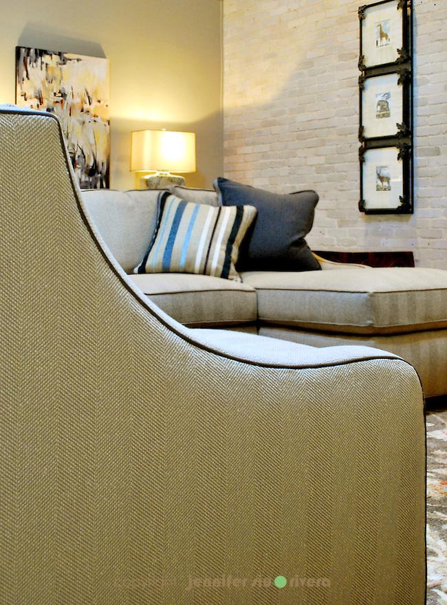 Castle Hills residential living room