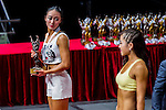 Winners of the South China Women's Sport Physique (Group B) category during the 2016 Hong Kong Bodybuilding Championships on 12 June 2016 at Queen Elizabeth Stadium, Hong Kong, China. Photo by Lucas Schifres / Power Sport Images