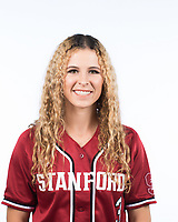 Stanford Softball Portraits, October 10, 2017