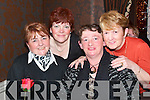 DINNER OUT: Dining out for Women's Christmas in the Horse Shoe Bar, Listowel on Sunday night were l-r: Nora Sommers, Mairead Hartnett, Kay Line and Linda Browne, all Listowel.   Copyright Kerry's Eye 2008