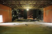 SÃO PAULO,SP,05 SETEMBRO 2013 - FERNANDO HADDAD MOOCA - Vista das obras do teatro Arthur Azevedo na Mooca  na manhã desta quinta feira .OTO ALE VIANNA - BRAZIL PHOTO PRESS.