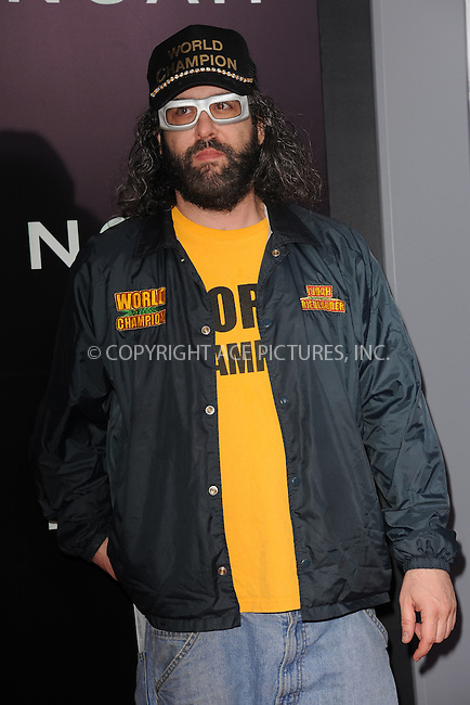 WWW.ACEPIXS.COM<br /> March 26, 2014 New York City<br /> <br /> Judah Friedlander attending the 'Noah' New York premiere at Ziegfeld Theatre on March 26, 2014 in New York City.<br /> <br /> Please byline: Kristin Callahan<br /> <br /> ACEPIXS.COM<br /> <br /> Tel: (212) 243 8787 or (646) 769 0430<br /> e-mail: info@acepixs.com<br /> web: http://www.acepixs.com