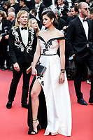 """CANNES - MAY 15:  Lison di Martino arrives to the premiere of """" LES MISÉRABLES """" during the 2019 Cannes Film Festival on May 15, 2019 at Palais des Festivals in Cannes, France.      <br /> CAP/MPI/IS/LB<br /> ©LB/IS/MPI/Capital Pictures"""