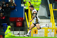 Picture by Alex Whitehead/SWpix.com - 07/10/2017 - Rugby League - Betfred Super League Grand Final - Castleford Tigers v Leeds Rhinos - Old Trafford, Manchester, England - Leeds' Tom Briscoe celebrates his try.