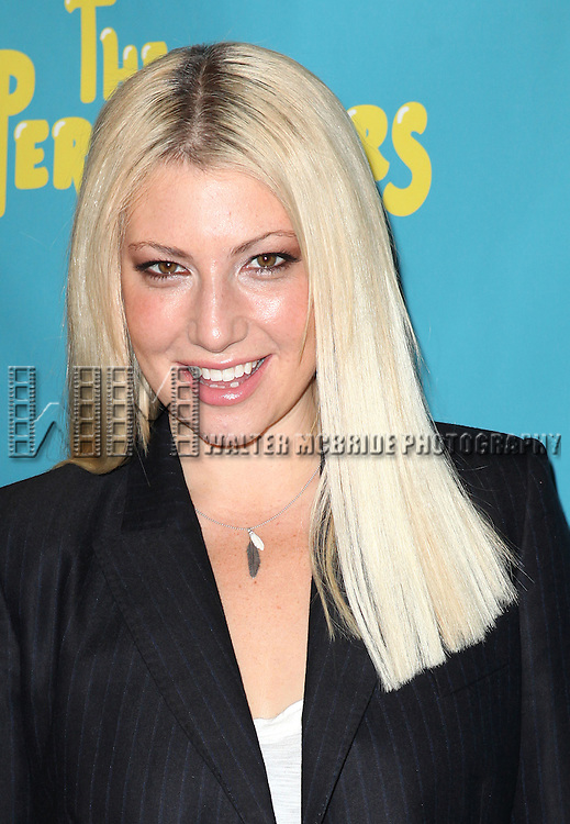 "Actress Ari Graynor attends press event to introduce the cast and creators of the new Broadway play ""The Performers""at the Hard Rock Cafe on Tuesday, Sept. 25, 2012 in New York."