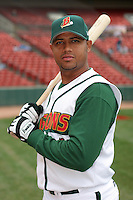 Buffalo Bisons Andy Marte during an International League game at Dunn Tire Park on April 21, 2006 in Buffalo, New York.  (Mike Janes/Four Seam Images)