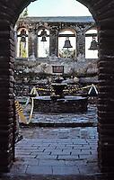 Mission San Juan Capistrano. Feb. 1988.