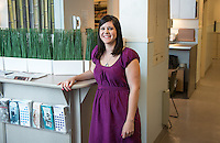 Kristina White, Emmons Health Center staff (Photo by Marc Campos, Occidental College Photographer)