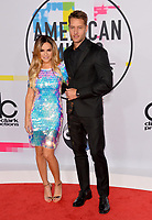 Chrishell Stause &amp; Justin Hartley at the 2017 American Music Awards at the Microsoft Theatre LA Live, Los Angeles, USA 19 Nov. 2017<br /> Picture: Paul Smith/Featureflash/SilverHub 0208 004 5359 sales@silverhubmedia.com