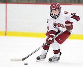 Kelsey Romatoski (Harvard - 5) - The Harvard University Crimson defeated the Northeastern University Huskies 1-0 to win the 2010 Beanpot on Tuesday, February 9, 2010, at the Bright Hockey Center in Cambridge, Massachusetts.