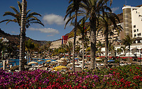 Swimming pool and holiday resort, Mogan, Gran Canaria, Canary Islands.