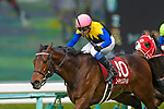 TAKARAZUKA,JAPAN-MAR 22: You Can Smile #10,ridden by Yasunari Iwata,wins the Hanshin Daishoten at Hanshin Racecourse on March 22,2020 in Takarazuka,Hyogo,Japan. Kaz Ishida/Eclipse Sportswire/CSM