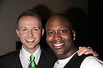 Marty Thomas &amp; Tituss Burgess<br /> attending  the Gala Performance After Party for BROADWAY BACKWARDS 4  - benefiting the Lesbian, Gay, Bisexual &amp; Transgender Comunity Center.<br /> February 9, 2009