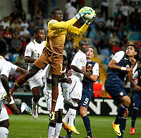 Ghana's goalkeeper Eric Antwi (F) during their FIFA U-20 World Cup Turkey 2013 Group Stage Group A soccer match Ghana betwen USA at the Kadir Has stadium in Kayseri on June 27, 2013. Photo by Aykut AKICI/isiphotos.com