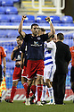 Jon Ashton of Stevenage celebrates victory.Reading v Stevenage - FA Cup 3rd Round - Madejski Stadium,.Reading - 7th January, 2012.© Kevin Coleman 2012