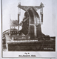 BNPS.co.uk (01202 558833)<br /> Pic: RobertMorley/BNPS<br /> <br /> Part of the top secret remote control mechanism involving valves and gyros.<br /> <br /> The world's first drone boat is rediscovered - after 100 years in the shadows.<br /> <br /> A historic British torpedo boat, which was converted into the world's first remotely controlled 'drone vessel' as part of a top secret project at the end of the Great War has been painstakingly researched and restored after being discovered rotting in a West country boatyard.<br /> <br /> The pioneering CMB9/DCB1 was one of 12 Coastal Motor Boats (CMBs) built by the Admiralty in 1916 to target German destroyers.<br /> <br /> The fast, lightweight 40ft motor torpedo boat, which could travel at 40 knots, sunk the German destroyer G88 off Zebrugge in Belgium in 1917.<br /> <br /> Subsequently, it was one of four vessels converted into Distance Control Boats (DCBs) for top secret trials to see if unmanned patrol boats with torpedoes could be radio controlled via aircraft and directed towards enemy targets.<br /> <br /> The boat was found in a sorry state covered in brambles in a boat yard in Weston-super-Mare, Somerset, by marine surveyor Robert Morley a decade ago, who has spent tens of thousands of pounds restoring and researching it's colourful history.