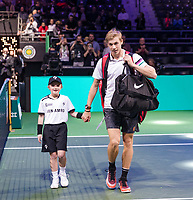 Rotterdam, The Netherlands, 14 Februari 2019, ABNAMRO World Tennis Tournament, Ahoy, Denis Shapovalov (CAN), <br /> Photo: www.tennisimages.com/Henk Koster