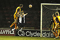 07/01/2009  Copyright Pic: James Stewart.File Name : sct_jspa01_motherwell_v_hearts.CHRIS PORTER HEAD HOME MOTHERWELL'S FIRST.James Stewart Photo Agency 19 Carronlea Drive, Falkirk. FK2 8DN      Vat Reg No. 607 6932 25.Studio      : +44 (0)1324 611191 .Mobile      : +44 (0)7721 416997.E-mail  :  jim@jspa.co.uk.If you require further information then contact Jim Stewart on any of the numbers above.........