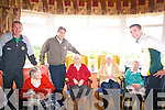 The Sam Maguire Cup at Annascaul Senior Citizens Home.