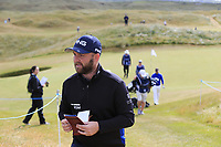 Andy Sullivan (ENG) walks off the 13th green during Thursday's Round 1 of the 2018 Dubai Duty Free Irish Open, held at Ballyliffin Golf Club, Ireland. 5th July 2018.<br /> Picture: Eoin Clarke | Golffile<br /> <br /> <br /> All photos usage must carry mandatory copyright credit (&copy; Golffile | Eoin Clarke)