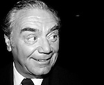 Earnest Borgnine at a promotion for his new movie 'Deadly Blessing' in New York City. August 13, 1981. .