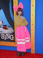 LOS ANGELES, CA. December 3, 2016: Actress Kyary Pamyu Pamyu at the world premiere of &quot;Sing&quot; at the Microsoft Theatre LA Live.<br /> Picture: Paul Smith/Featureflash/SilverHub 0208 004 5359/ 07711 972644 Editors@silverhubmedia.com