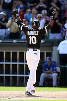 August 15 2008:  Alexei Ramirez of the Chicago White Sox during a game at U.S. Cellular Field in Chicago, IL.  Photo by:  Mike Janes/Four Seam Images