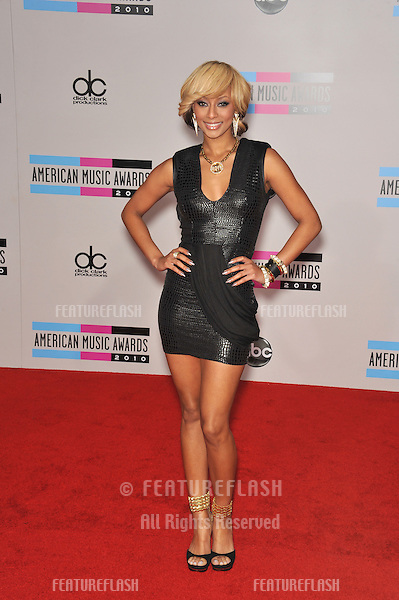 Keri Hilson at the 2010 American Music Awards at the Nokia Theatre L.A. Live in downtown Los Angeles..November 21, 2010  Los Angeles, CA.Picture: Paul Smith / Featureflash