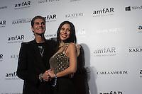 SAO PAULO, SP, 04.03.2014 - BAILE GALA AMFAR  Perry Farrell e Etty Lau são vistos  durante baile de gala da AmFar, na regiao oeste da cidade São Paulo, na noite desta sexta-feira.(Foto: Adriana Spaca / Brazil Photo Press).