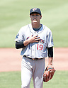 Masahiro Tanaka (RailRiders), MAY 27, 2015 - 3A : New York Yankees pitcher Masahiro Tanaka stands on the mound during a minor league baseball game against the Pawtucket Red Sox at McCoy Stadium in Pawtucket, Rhode Island, United States. (Photo by AFLO)