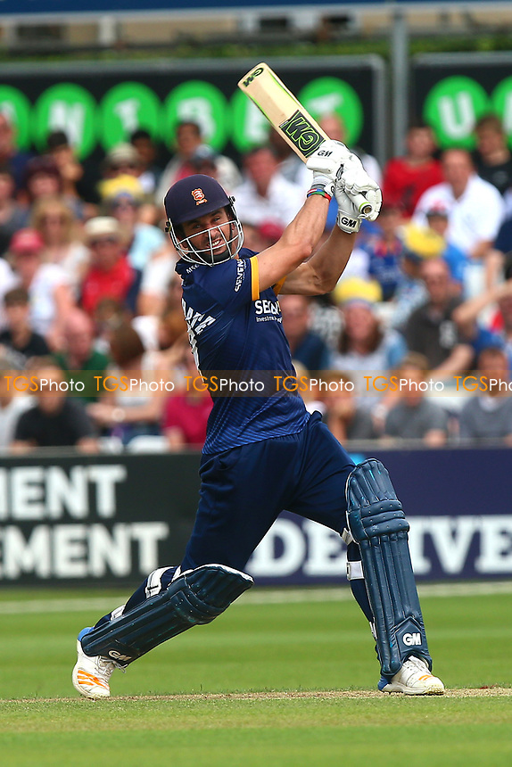 Ryan ten Doeschate hits four runs for Essex during Essex Eagles vs Glamorgan, NatWest T20 Blast Cricket at The Cloudfm County Ground on 16th July 2017