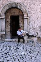 Daniele Kihlgren, the Swedish Italian entrepreneur who developed the Sextantion hotel in the historical village of Santo Stefano di Sessanio