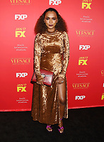 HOLLYWOOD, CA - JANUARY 08: Author Janet Mock attends the Premiere Of FX's 'The Assassination Of Gianni Versace: American Crime Story' at ArcLight Hollywood on January 8, 2018 in Hollywood, California.<br /> CAP/ROT/TM<br /> &copy;TM/ROT/Capital Pictures
