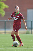 20180804 - ZULTE , BELGIUM : Zulte Waregem's Kay Cuvelier pictured during a friendly soccer match between the women teams of Zulte Waregem and Bosdam Beveren  , during the preparation of the 2018-2019 season, Saturday 4 August 2018 . PHOTO DIRK VUYLSTEKE / SPORTPIX.BE