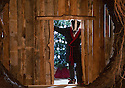 06/11/15<br /> <br /> Badger's front door..<br /> <br /> Inspired by The Wind in The Willows,  this year's Christmas attraction 'Christmas at Chatsworth with Mr Toad' is unveiled today ahead of its official opening tomorrow (Saturday) at Chatsworth House in The Derbyshire Peak District.<br /> <br /> All Rights Reserved: F Stop Press Ltd. +44(0)1335 418365   +44 (0)7765 242650 www.fstoppress.com