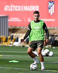 Atletico de Madrid's Ivan Saponjic during training session. September 17,2020.(ALTERPHOTOS/Atletico de Madrid/Pool)