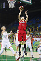 Yuka Mamiya (JPN), AUGUST 6, 2016 - Basketball : <br /> Women's Preliminary Round <br /> between  Japan 77-73 Belorussiya  <br /> at Youth Arena <br /> during the Rio 2016 Olympic Games in Rio de Janeiro, Brazil. <br /> (Photo by Yusuke Nakanishi/AFLO SPORT)